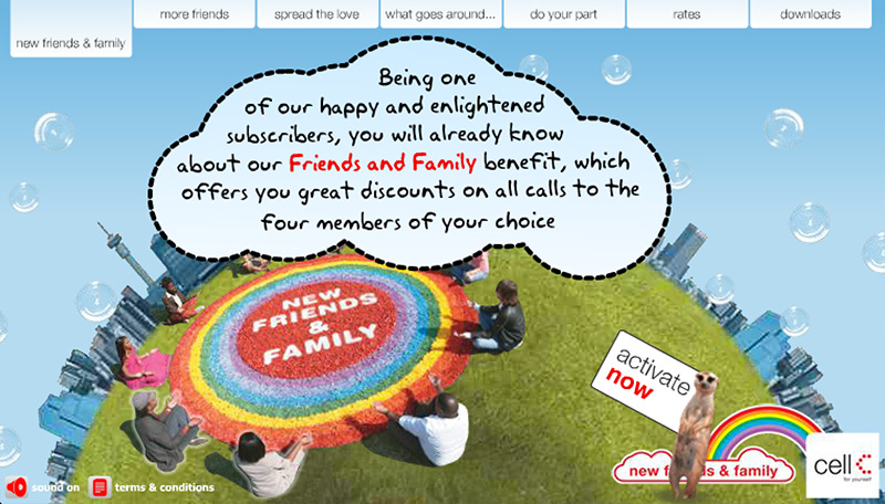 Cell C: Friends and Family