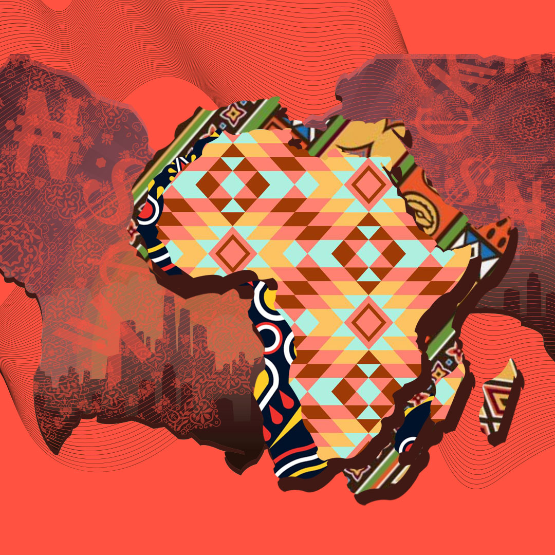 Illustration – Colourful African Finance Gen-X themed illustrations