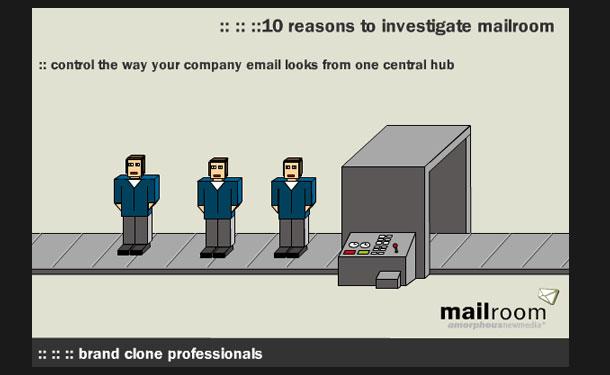 Animation – Mailroom